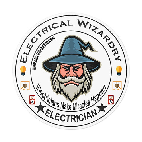 Outdoor Rated Vinyl Stickers | Electrical Wizardry