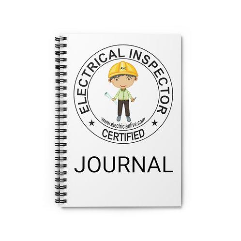 Inspector Journal - Ruled Line
