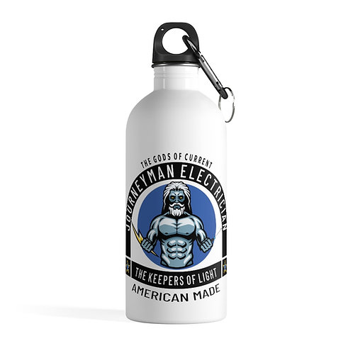 Stainless Steel Water Bottle | Gods of Current | Journeyman Electrician