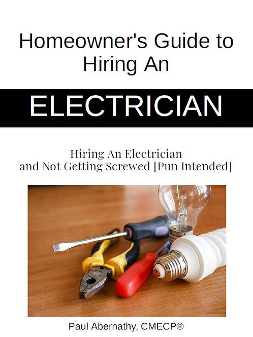 Homeowner's Guide to Hiring an Electrician