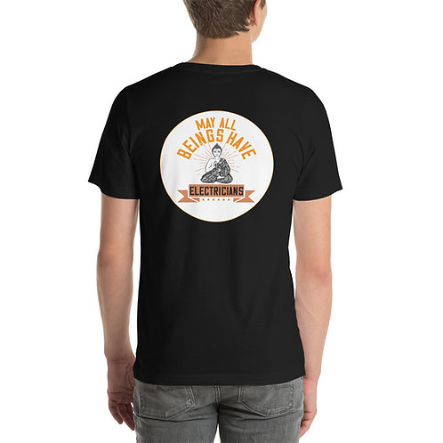 Short-Sleeve Unisex T-Shirt - All Beings Electrician