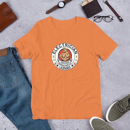 Short-Sleeve Unisex T-Shirt Front Only   Code Strong
