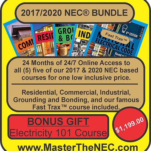 2017 NEC & 2020 NEC Bundle Package