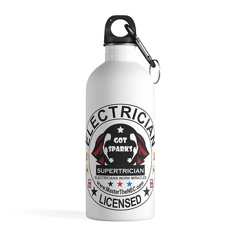 Stainless Steel Water Bottle | SuperTrician