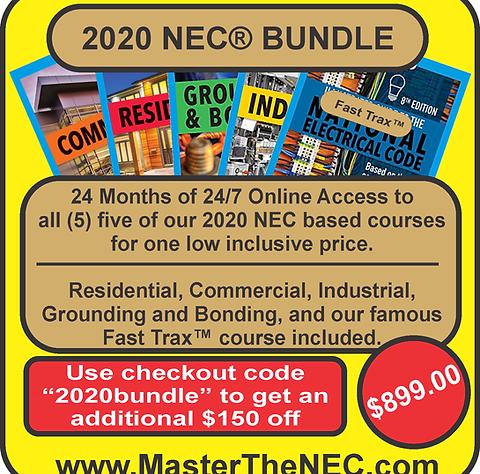 2020 NEC Bundle Package