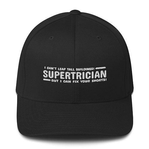 Structured Twill Cap   Flex Fit   Fix Your Shorts