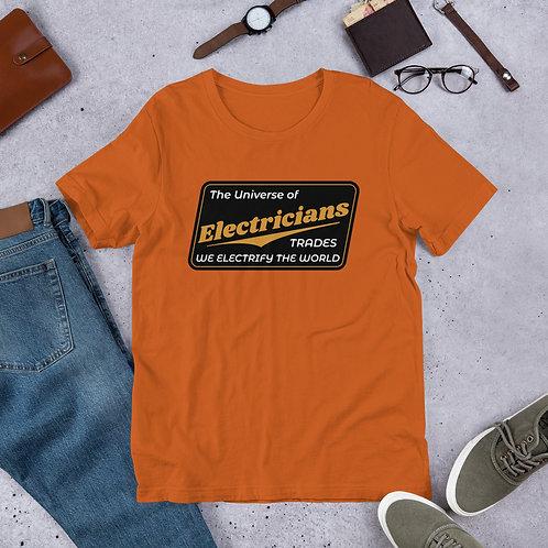 Short-Sleeve Unisex T-Shirt   We Electrify The World