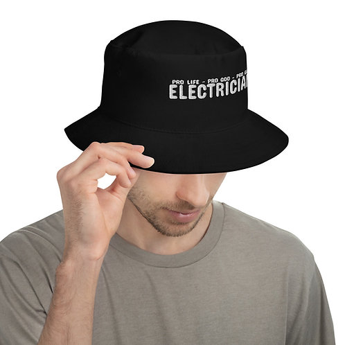 Bucket Hat - Electrician | Pro Life - Pro God - Pro Gun