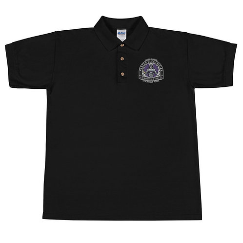 Embroidered Polo Shirt | Gods of Current | Master Electrician Polo