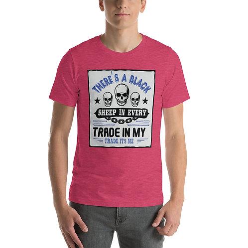 Short-Sleeve Unisex T-Shirt - Black Sheep