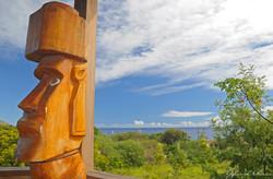 View from Tekarera Hotel