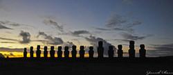 Before Sunrise over Ahu Tongariki