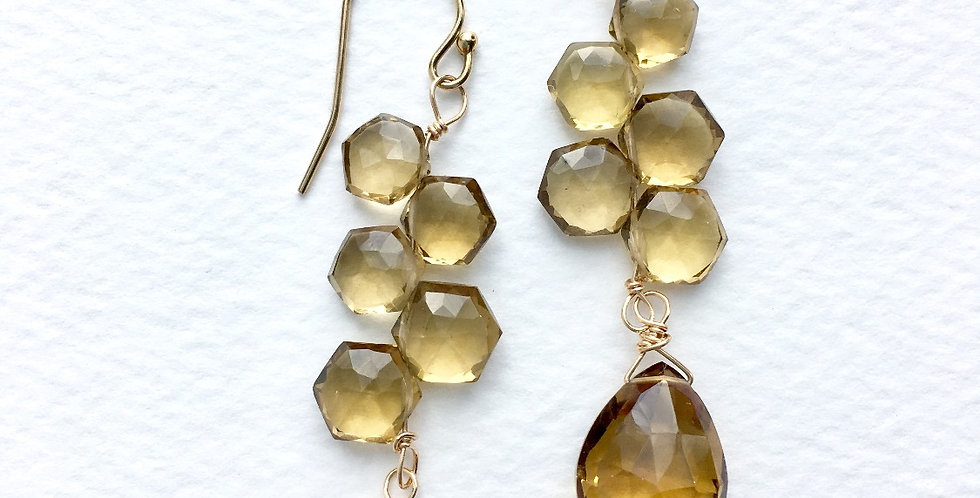 Citrine Earrings | Laura Stark Designs