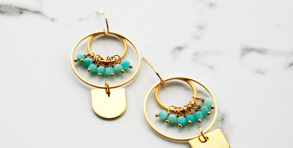 modern shapes earring