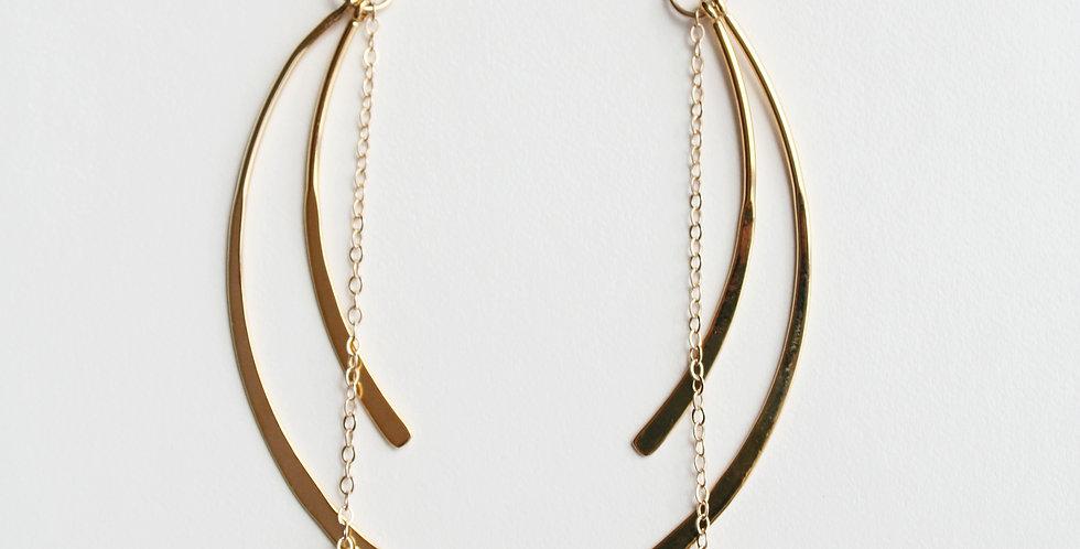 Modern Gold Earrings | Laura Stark Designs