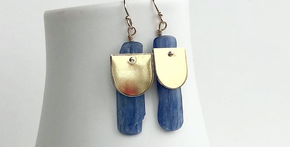 Raw Stone Boho Earrings
