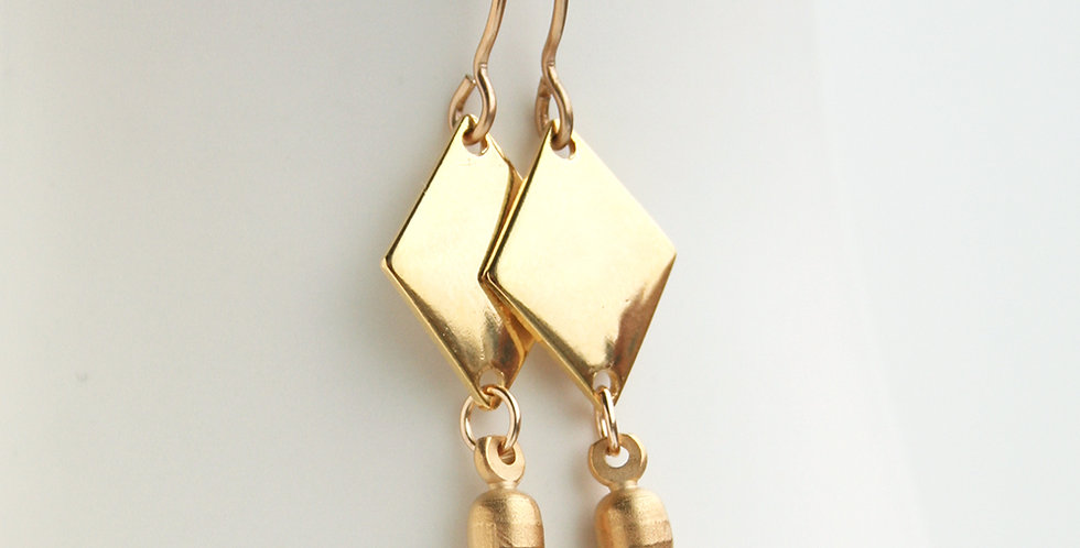 Geometric Earrings | Laura Stark Designs