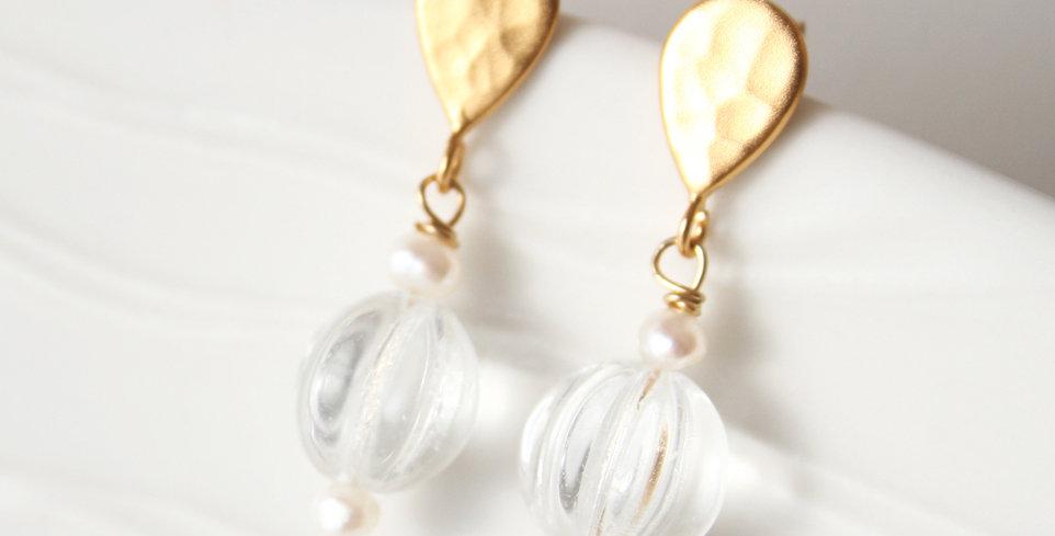 Glass Earrings | Laura Stark Designs