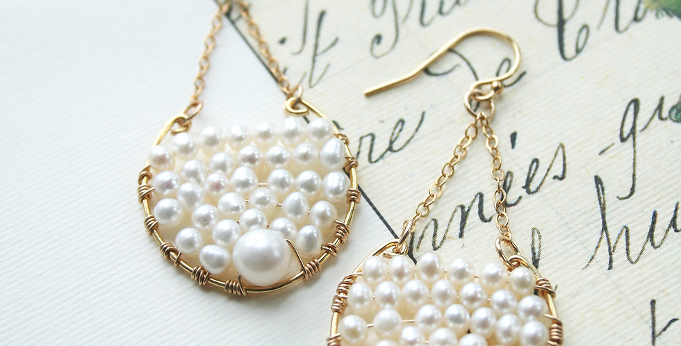 Bohemian Wedding Earrings | Laura Stark Designs