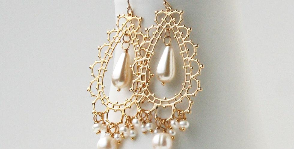 Boho Wedding Earrings