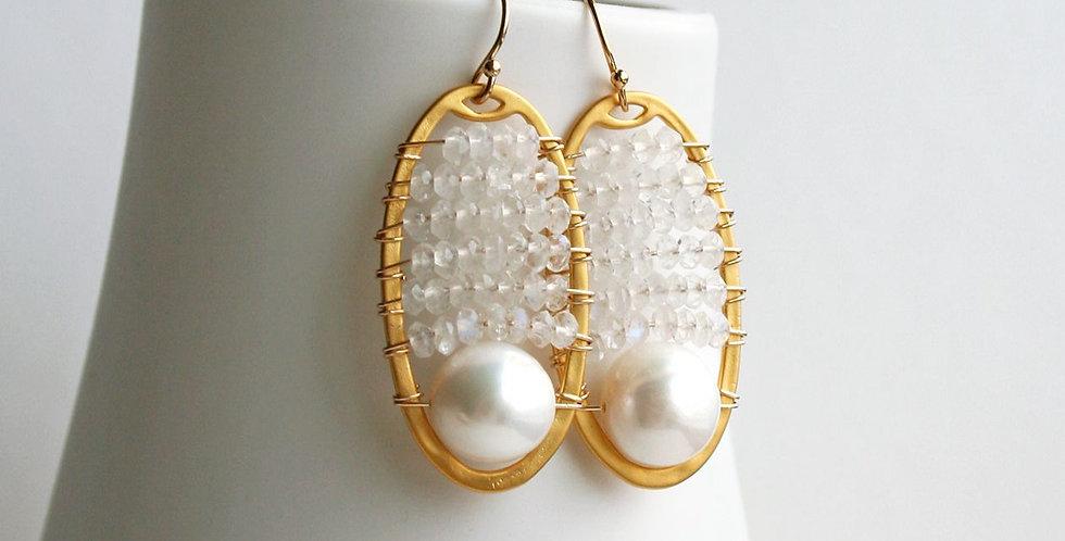 Modern Wedding Earrings