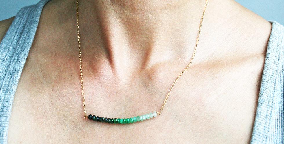 Emerald Necklace | Laura Stark Designs
