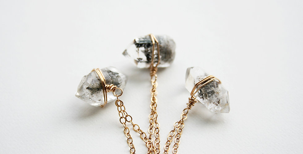 Herkimer Diamond Necklace | Laura Stark Designs