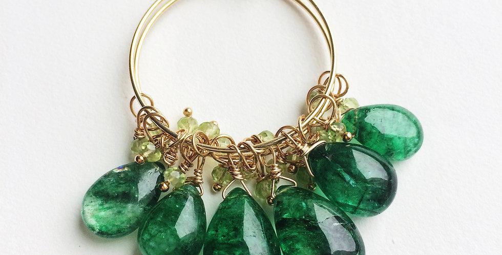 Emerald Earrings | Laura Stark Designs