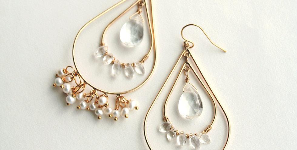 Bohemian Wedding Earrings