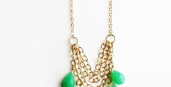 Green Chrysoprase Necklace | Laura Stark Designs