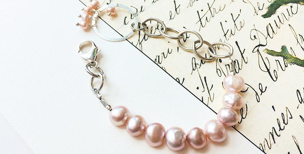 Pink Pearl Bracelet | Laura Stark Designs