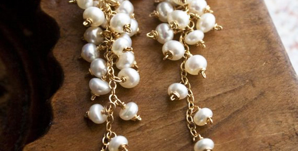 Pearl Earrings | Laura Stark Designs