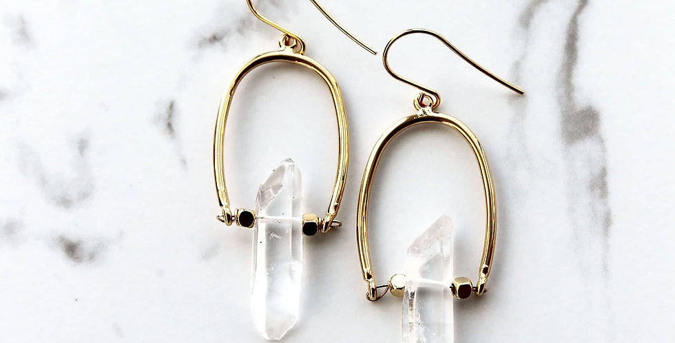 Bohemian Crystal Earrings