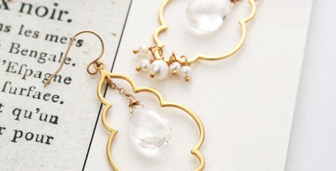 Moroccan Wedding Earrings