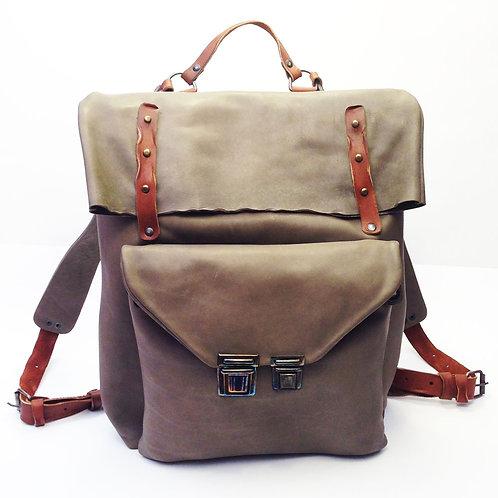 Кожаный рюкзак Maxim Sharov BP-004