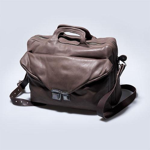Кожаный портфель Maxim Sharov B-095