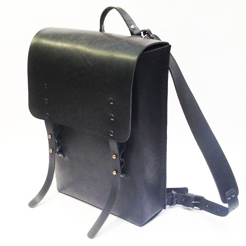 Кожаный ранец Maxim Sharov BP-005