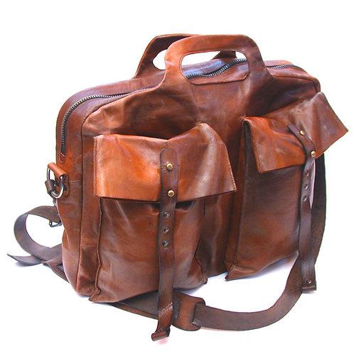 Кожаная сумка Maxim Sharov B-079