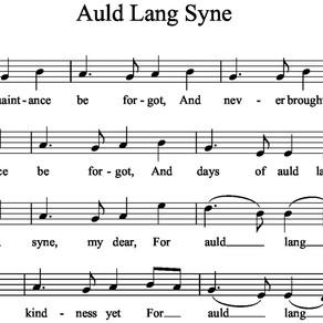 Auld Lang Syne, Can We Bid Adieu to 2020?
