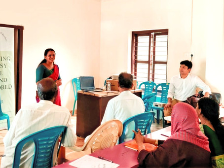 With Special School students (Buds School - koottilangadi)