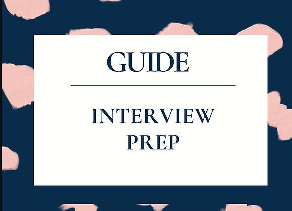 Interview Prep Guide