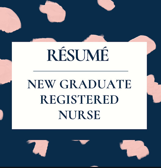 New Graduate RN Résumé Template