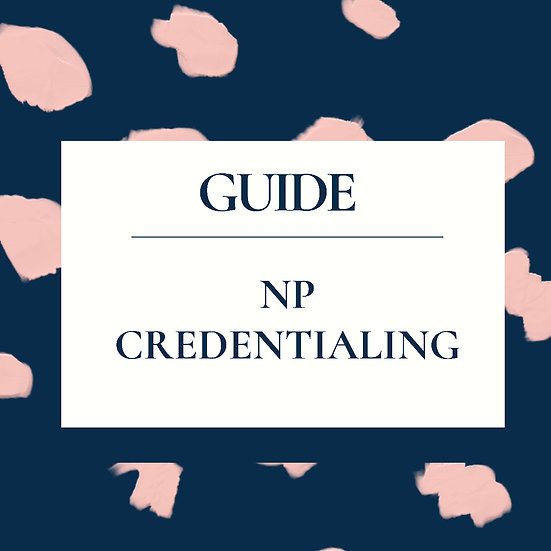 ReNegade NP Credentialing Guide