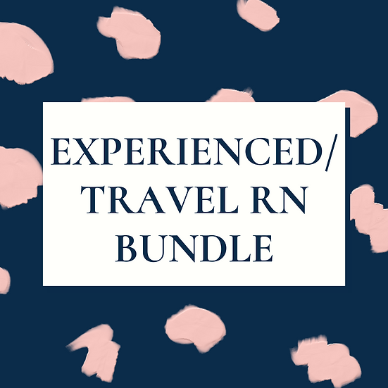 Experienced/Travel  RN/LVN/LPN Bundle