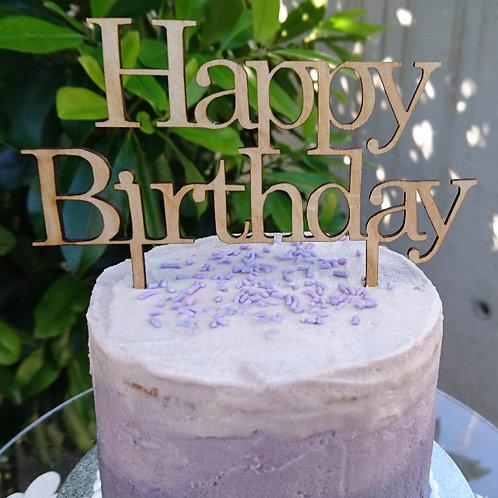 Original Happy Birthday Cake Topper