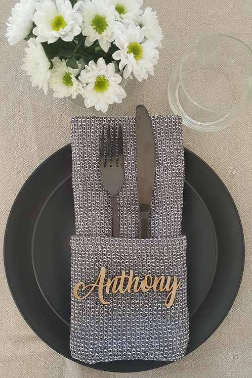 Wedding/Party Place Setting - Sample