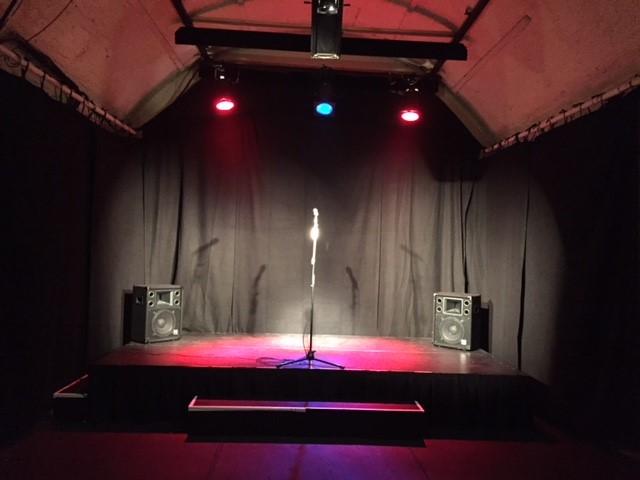 Bühne frei