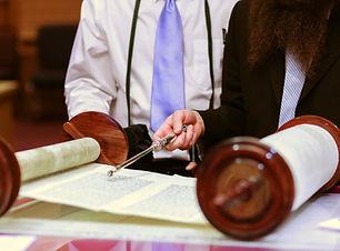 Jewish Man in Synagogue