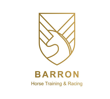 Barron official logo_Gold with tag line.