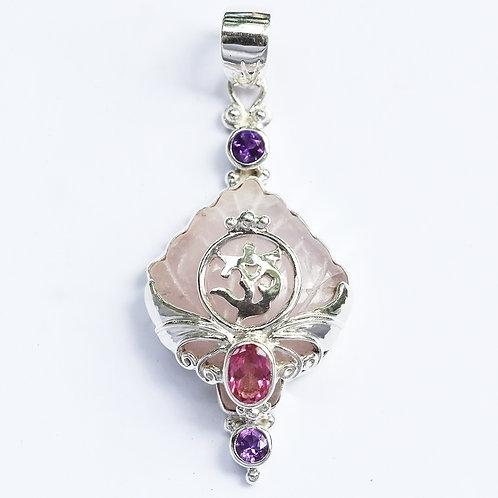 Rose Om Lotus